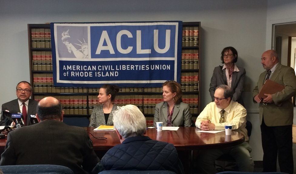 Disability Rights Rhode Islands with ACLU